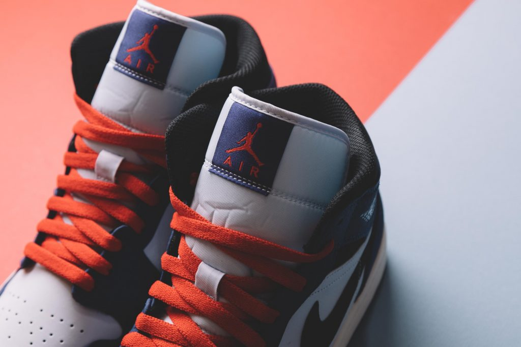 Air Jordan 1 Mid 货号:852542-400 - 莆田鞋