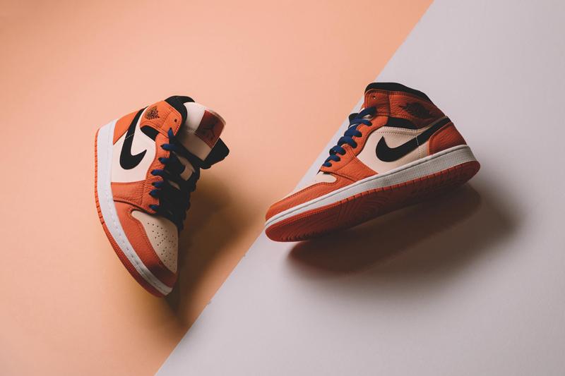 """Air Jordan 1 Mid """"小扣碎"""" 货号:852542-800 - 莆田鞋"""