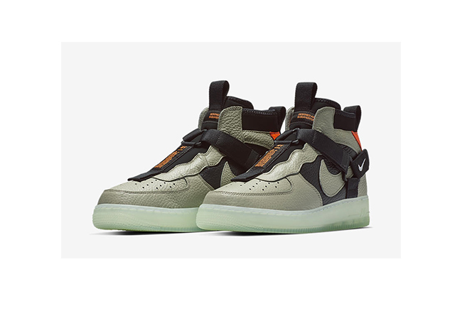 Nike Air Force 1 Utility Mid 货号:AQ9758-300 - 莆田鞋