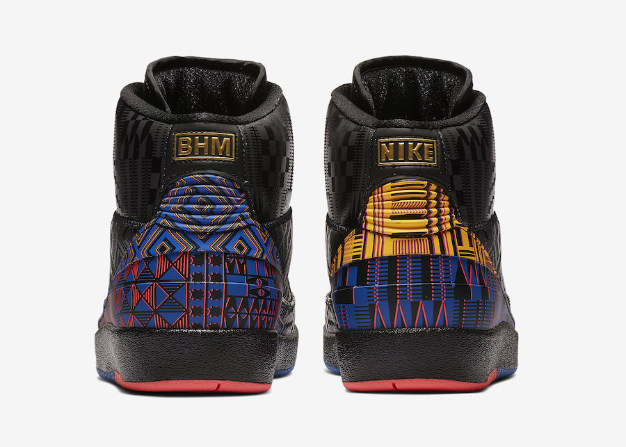 """Air Jordan 2 """"BHM"""" 货号:BQ7618-007 - 莆田鞋"""