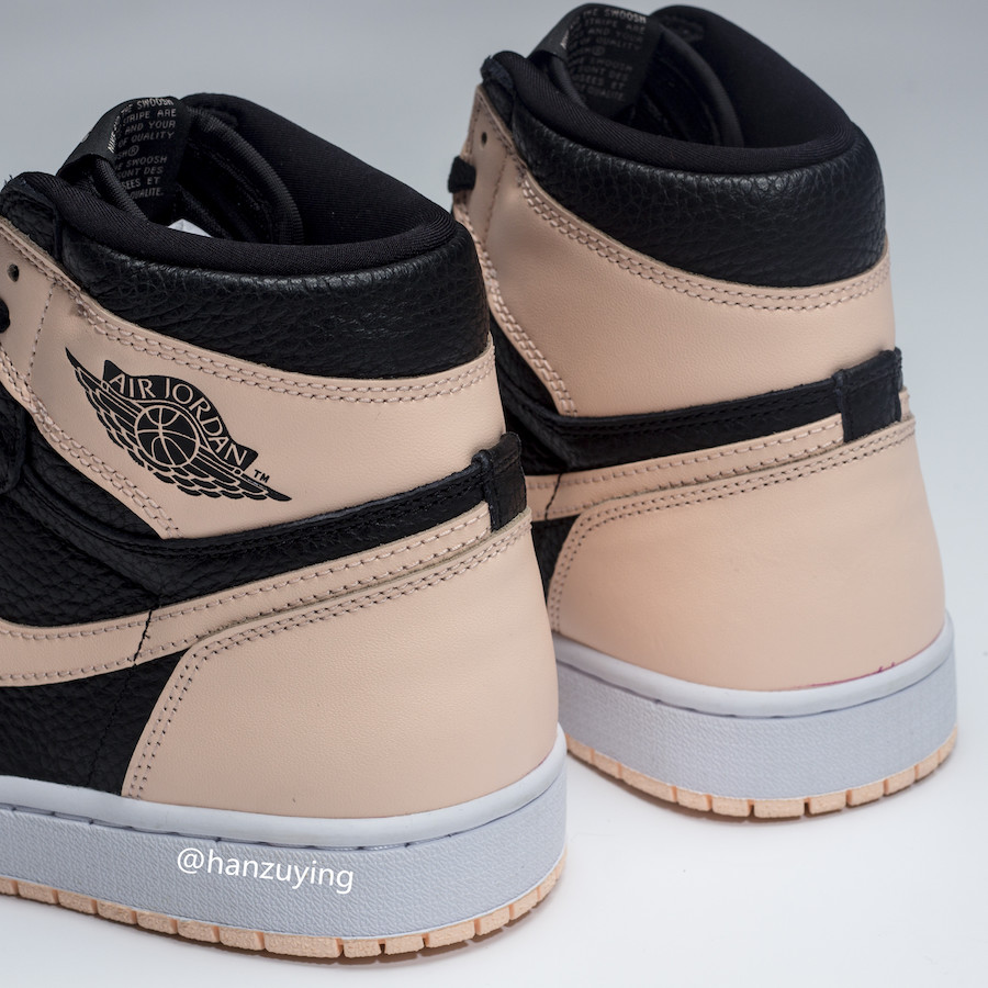 "Air Jordan Retro 1 High OG ""Crimson Tint"" 货号:555088-081 - 莆田鞋之家 0594sneaker.com"