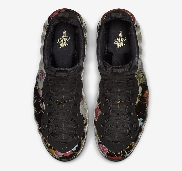 """Nike Air Foamposite One """"Floral"""" 货号: 314996-012 - 莆田鞋"""