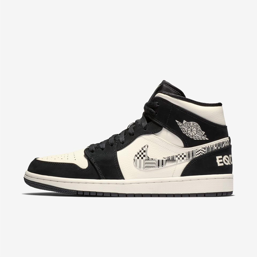 "Air Jordan 1 Mid BHM ""EQUALITY"" 货号:852542-010 BHM 黑人月 - 莆田鞋"