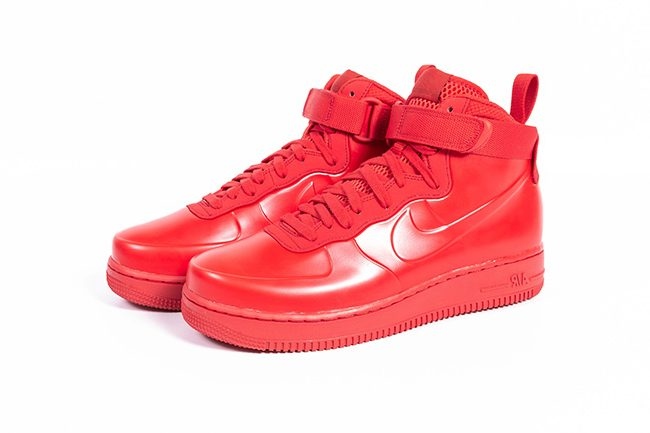 "Nike Air Force 1 Foamposite Cup NA ""Red"" 全红配色,货号:BV1172-600 - 莆田鞋"