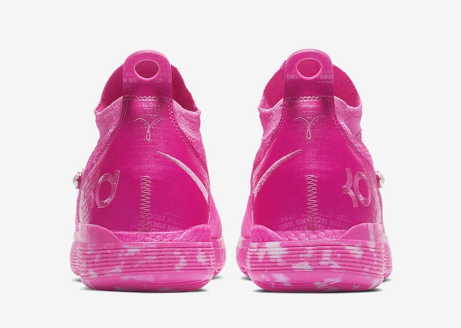 "Nike KD 11 ""Aunt Pearl"" 货号:BV7721-600 - 莆田鞋"