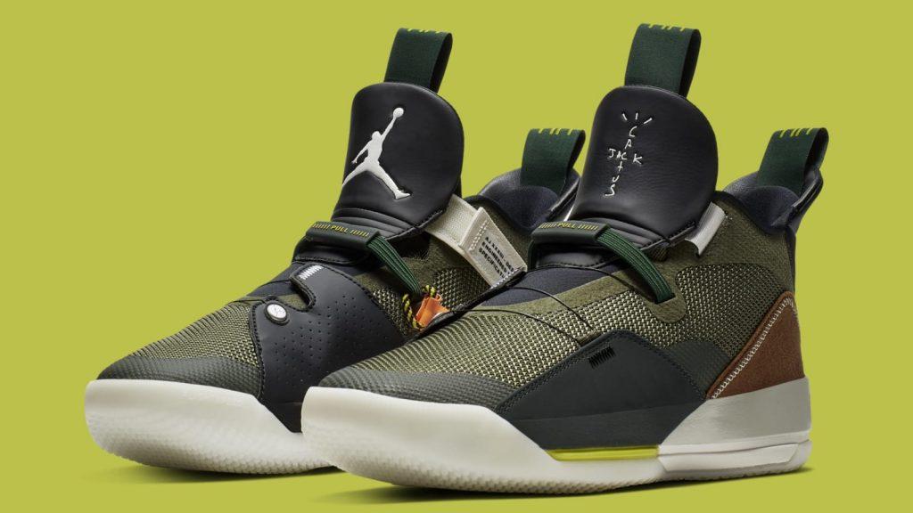 Travis Scott x Air Jordan 33 NRG 货号:CD5965-300 - 莆田鞋