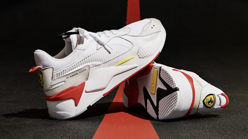 """PUMA RS-X """"Scuderia Ferrari"""" 货号:37058101 - 莆田鞋"""
