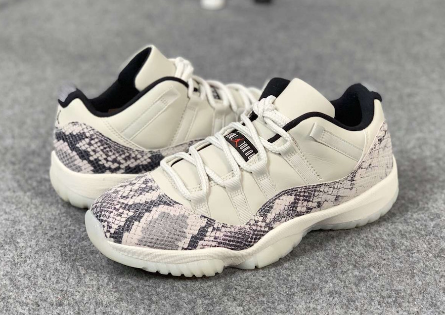 "Air Jordan 11 Low SE ""Snakeskin"" 货号:CD6846-002 - 莆田鞋之家 0594sneaker.com"