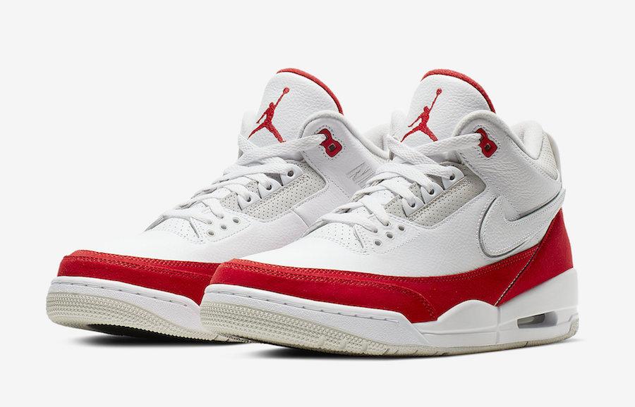 "Air Jordan 3 Tinker 乔丹3代""换勾"",货号:CJ0939-100 - 莆田鞋"