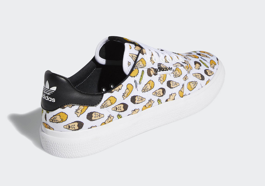 Beavis and Butt-Head x adidas 3MC 货号:F35088 - 莆田鞋之家 0594sneaker.com