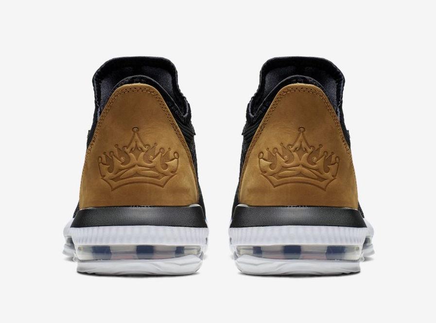 """Nike LeBron 16 Low """"Black and Tan"""" 货号:CI2668-001 - 莆田鞋"""