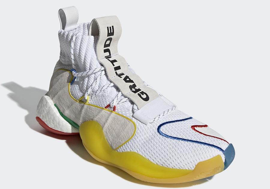 "Pharrell x adidas Crazy BYW LVL X ""Gratitude Empathy"" 货号:EF3500 - 莆田鞋之家 0594sneaker.com"