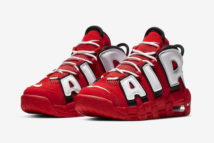 Nike Air More Uptempo GS 货号:CD9402-600 | 球鞋之家0594sneaker.com