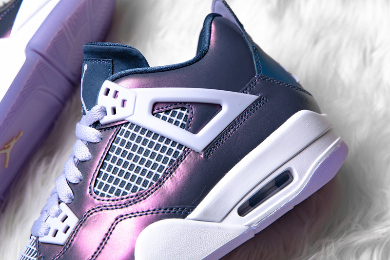 "Air Jordan 4 ""Monsoon Blue"" 货号:BQ9043-400 - 莆田鞋之家 0594sneaker.com"