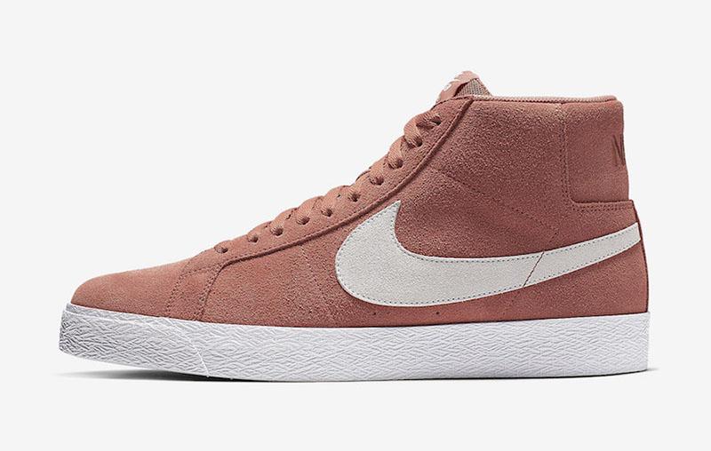 "Nike SB Blazer Mid ""Dusty Peach"" 货号:864349-201 - 莆田鞋之家 0594sneaker.com"