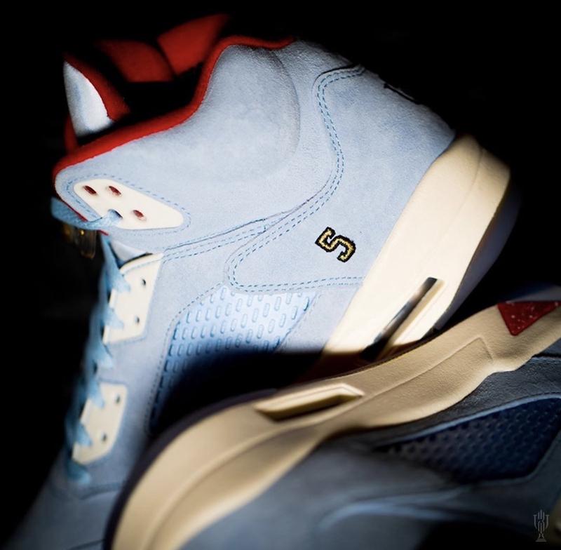 "Trophy Room x Air Jordan 5 ""Ice Blue"" - 莆田鞋之家 0594sneaker.com"