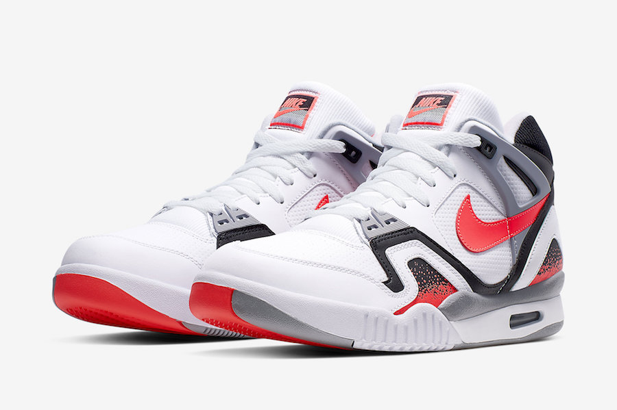 "Nike Air Tech Challenge 2 ""Hot Lava"" 热熔岩配色,货号:CJ1437-100 