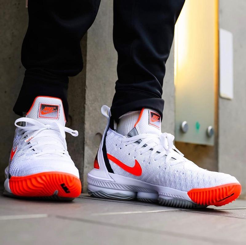 "Nike LeBron 16""Hot Lava"" 货号:CI1521-100 - 莆田鞋之家 0594sneaker.com"
