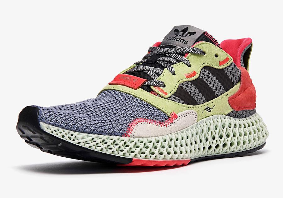 Adidas Originals ZX 4000 4D 货号:BD7927 - 莆田鞋之家 0594sneaker.com