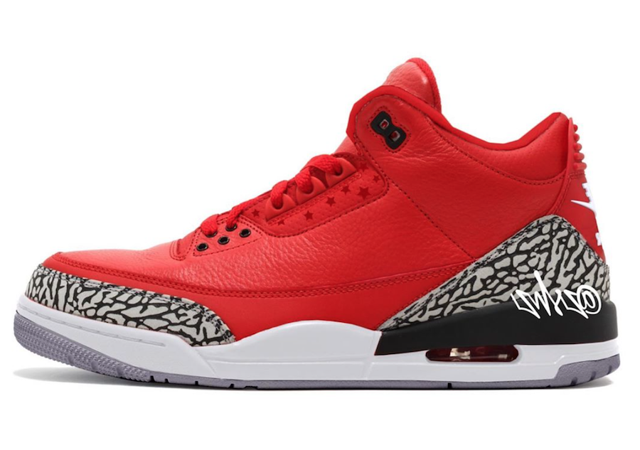 "Air Jordan 3 ""Chicago All-Star"" 货号:CK5692-600 