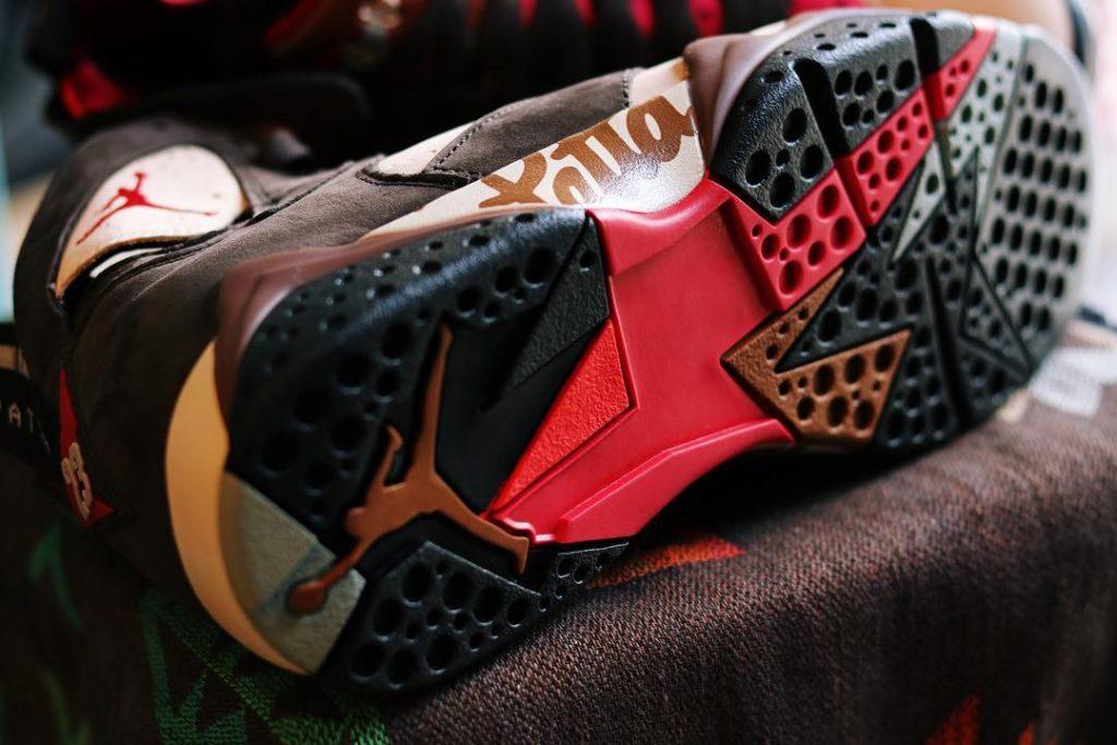 Patta x Air Jordan 7  货号:AT3375-200 - 莆田鞋之家 0594sneaker.com