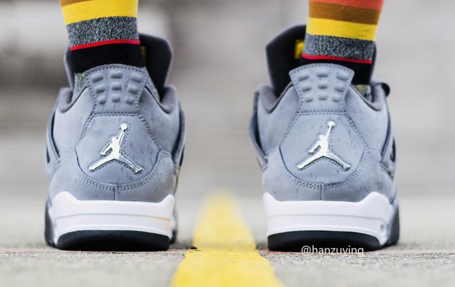 """Air Jordan 4 """"Cool Grey"""" 货号:308497-007 - 莆田鞋之家 0594sneaker.com"""