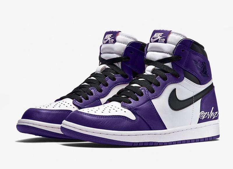 "Air Jordan 1 High OG""Court Purple"" 货号:555088-500 | 球鞋之家0594sneaker.com"