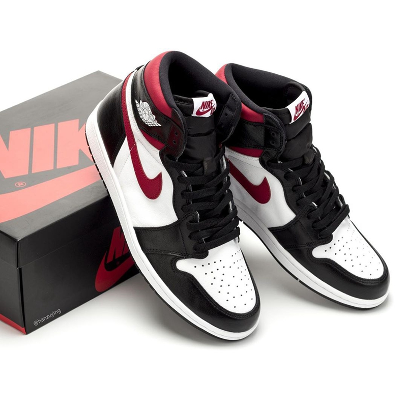 "Air Jordan 1 High OG ""Gym Red"" 货号:555088-061 