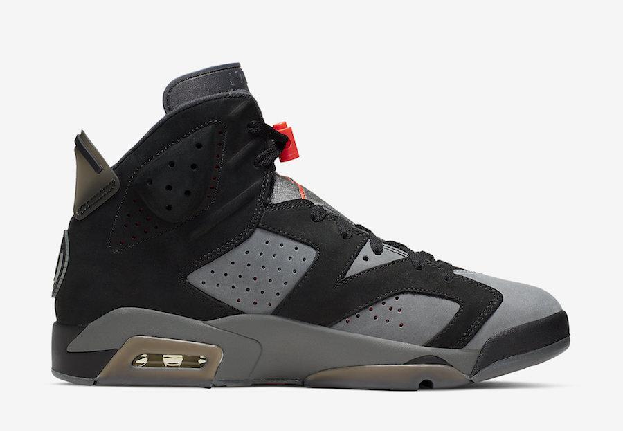 圣日耳曼队联名乔丹 PSG x Air Jordan 6 货号:CK1229-001   球鞋之家0594sneaker.com