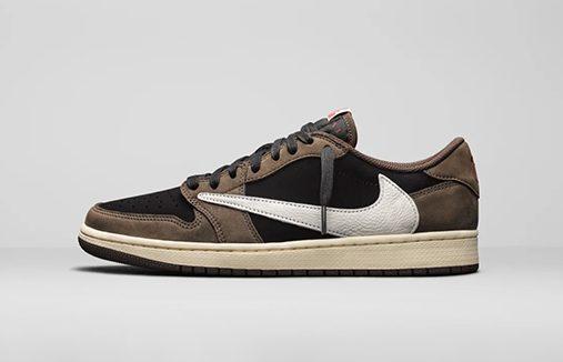 乔1低帮反钩发售 Travis Scott x Air Jordan 1 Low 货号:CQ4277-001   球鞋之家0594sneaker.com