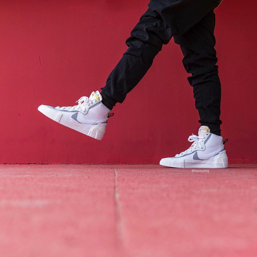 Sacai x Nike Blazer Mid 货号:BV8072-100 | 球鞋之家0594sneaker.com