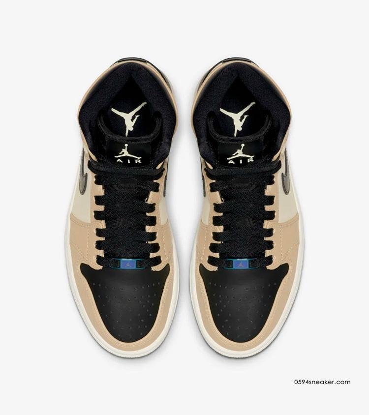 "Air Jordan 1 High ""Fossil"" ""珍珠奶茶"" 货号:AH7389-003 | 球鞋之家0594sneaker.com"