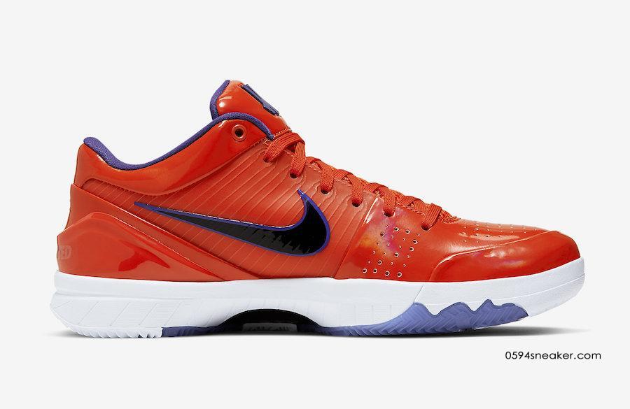 UNDEFEATED x Nike Kobe 4 Protro 太阳队 CQ3869-800、马刺队 CQ3869-300