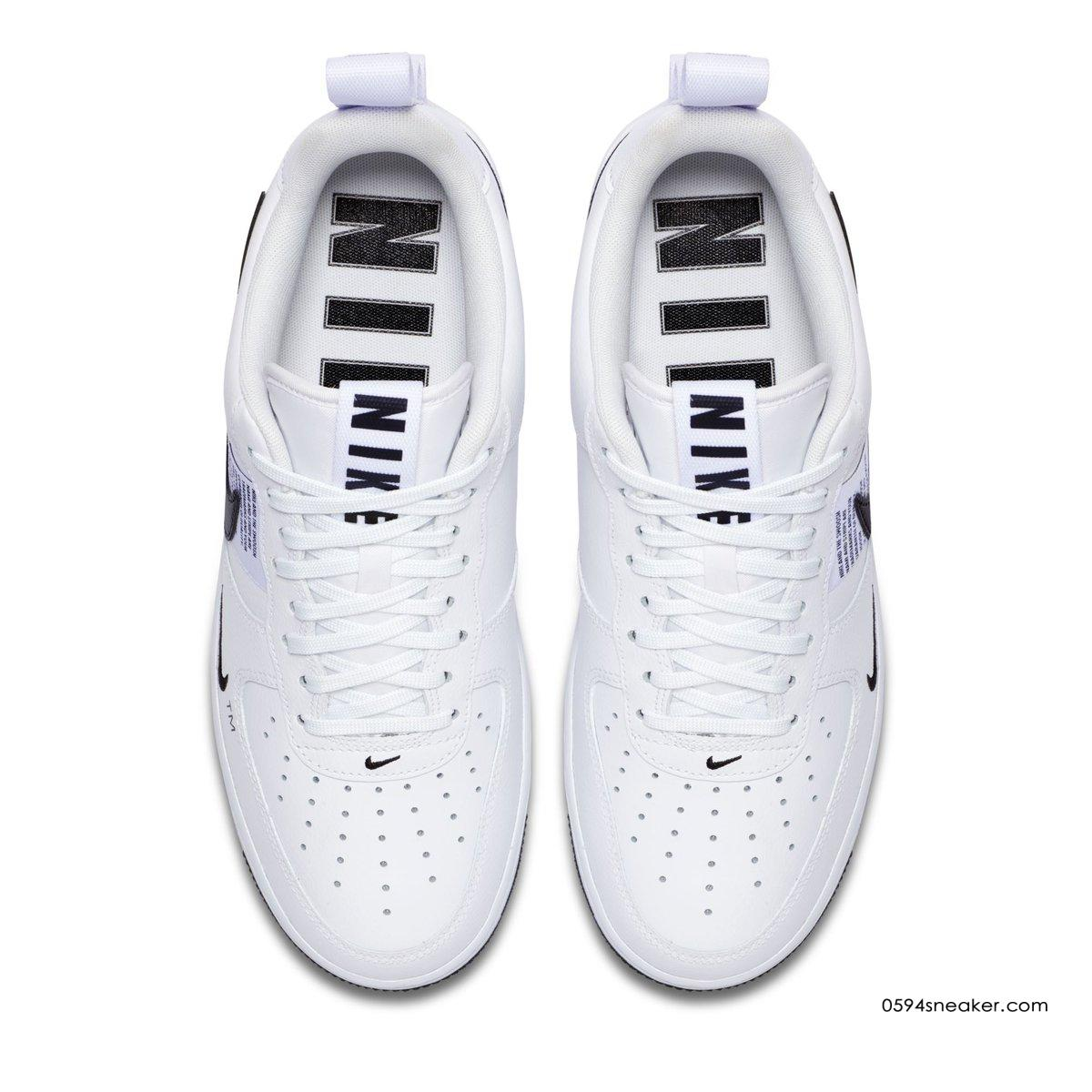 耐克板鞋空军全新设计 Nike Air Force 1 '07 LV8 Utility