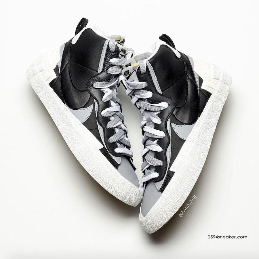 Sacai x Nike Blazer Mid 货号:BV0062-002