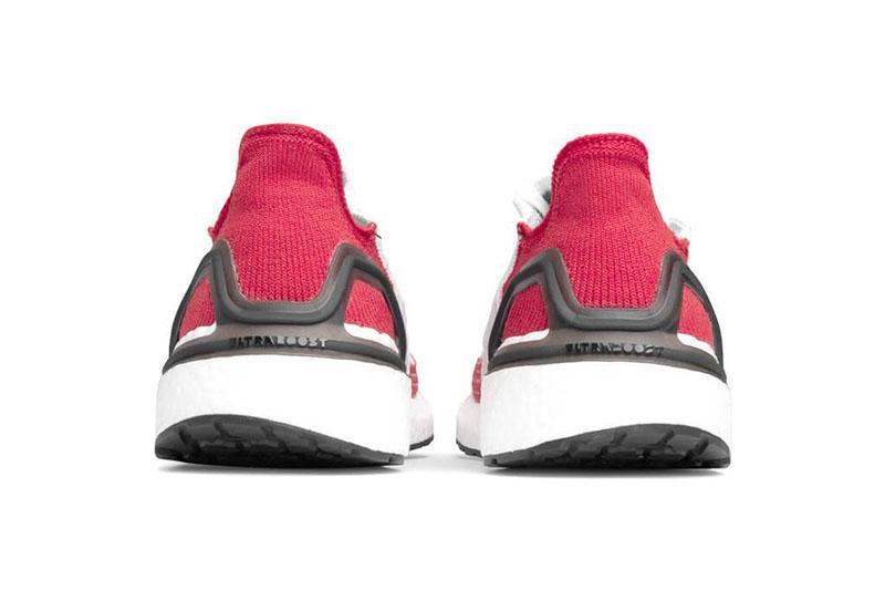 Adidas Ultra Boost 19 白红撞色UB,货号:EF1341 | 球鞋之家0594sneaker.com