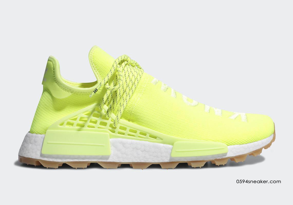 菲董灵魂 Pharrell x adidas NMD Hu Trail Know/Soul 货号:EF2335