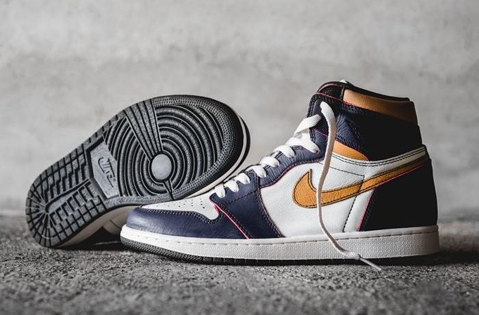 "Nike SB x Air Jordan 1 ""LA to Chicago"" 货号: CD6578-507"