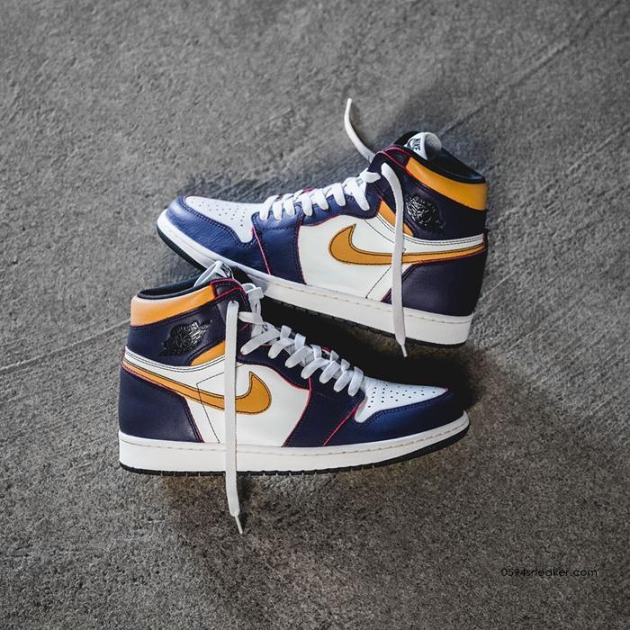 "Nike SB x Air Jordan 1 ""LA to Chicago"" 货号: CD6578-507"