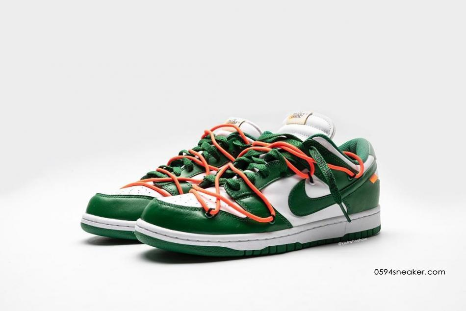 OFF-WHITE x Nike Dunk Low 货号:CT0856-700、CT0856-600、CT0856-100 | 球鞋之家0594sneaker.com