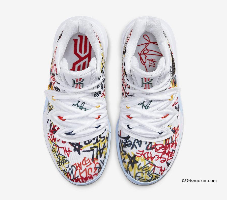 Nike Kyrie 5 PE 货号:CW4403-100   球鞋之家0594sneaker.com