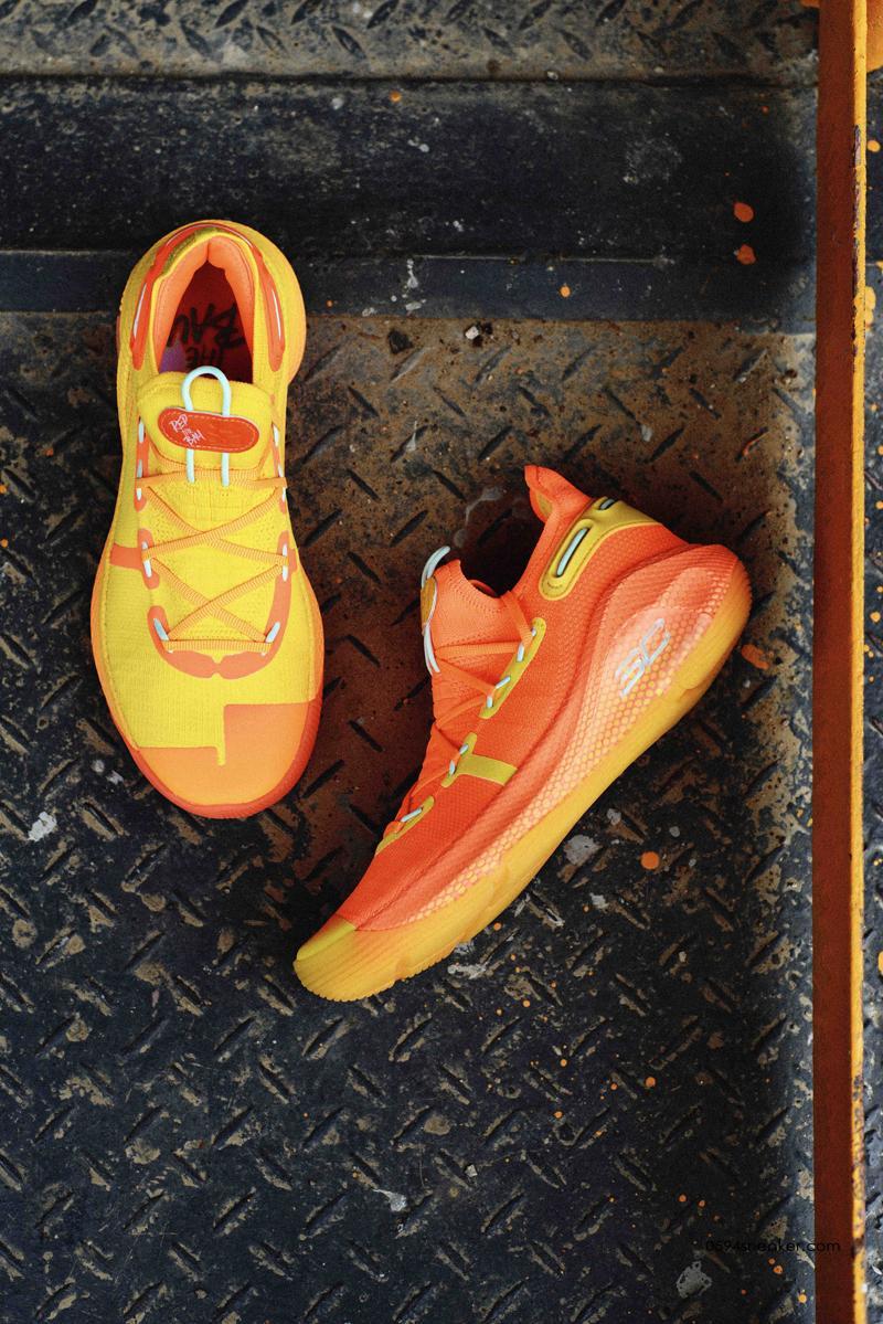 """超限量配色 库里六代 UA Curry 6 """"Rep The Bay"""" 仅售120双   球鞋之家0594sneaker.com"""