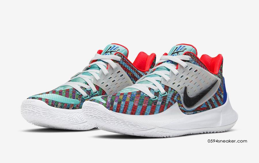 """欧文实战篮球鞋 Nike Kyrie Low 2 """"Multi-Color"""" 货号:AV6337-400"""