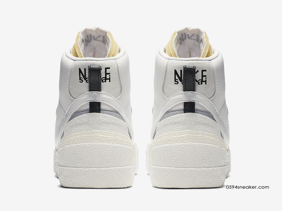 Sacai x Nike Blazer Mid 货号:BV0072-100/BV0072-002 | 球鞋之家0594sneaker.com