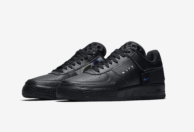 Nike Air Force 1 Type 空军一号黑武士,货号:AT7859-001 | 球鞋之家0594sneaker.com