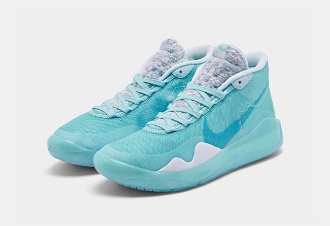 """杜兰特 12 代冰蓝 Nike KD 12 """"Blue Gaze"""" 货号:AR4229-400"""