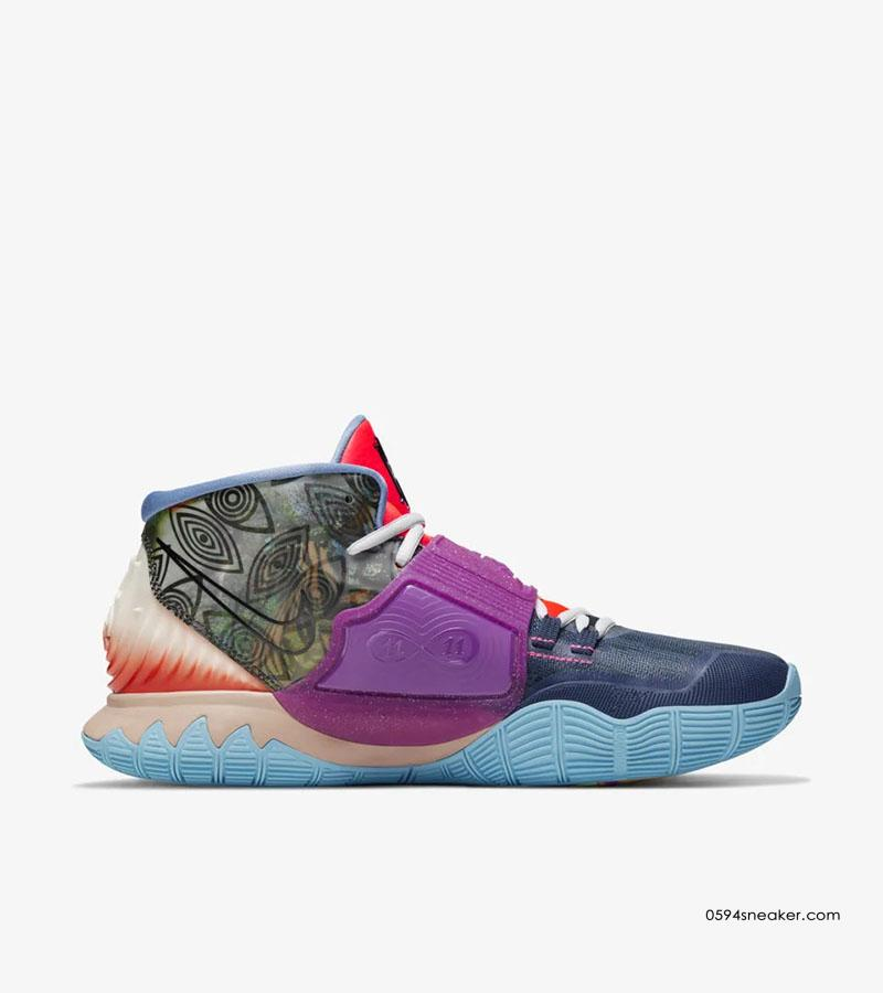 "Nike Kyrie 6 ""Unite the World"" 欧文6代 