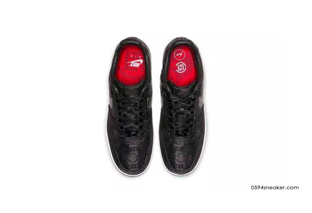 耐克空军一号三方联名 CLOT x fragment design x Nike Air Force 1 货号:CZ3986-001 | 球鞋之家0594sneaker.com