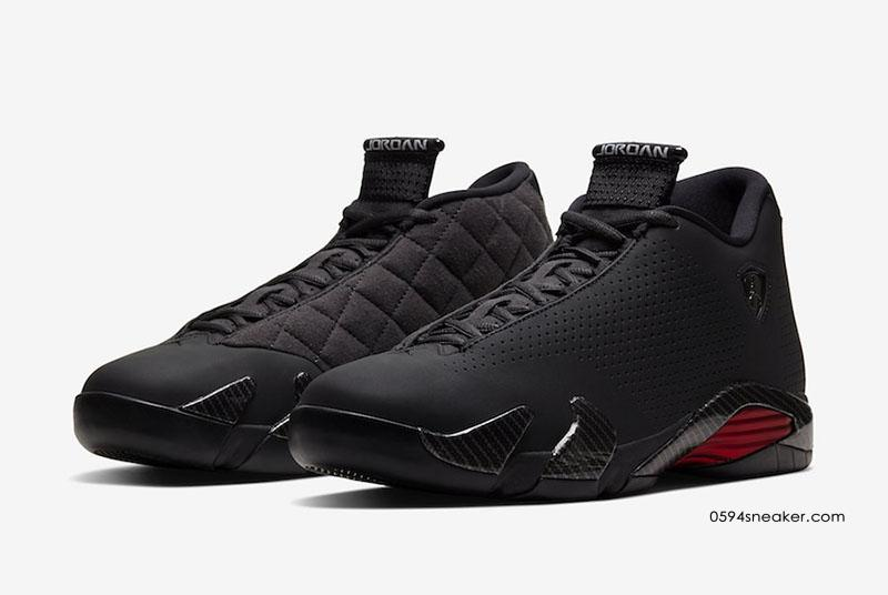 "乔丹14黑色法拉利 Air Jordan 14 SE ""Black Ferrari"" 货号:BQ3685-001"
