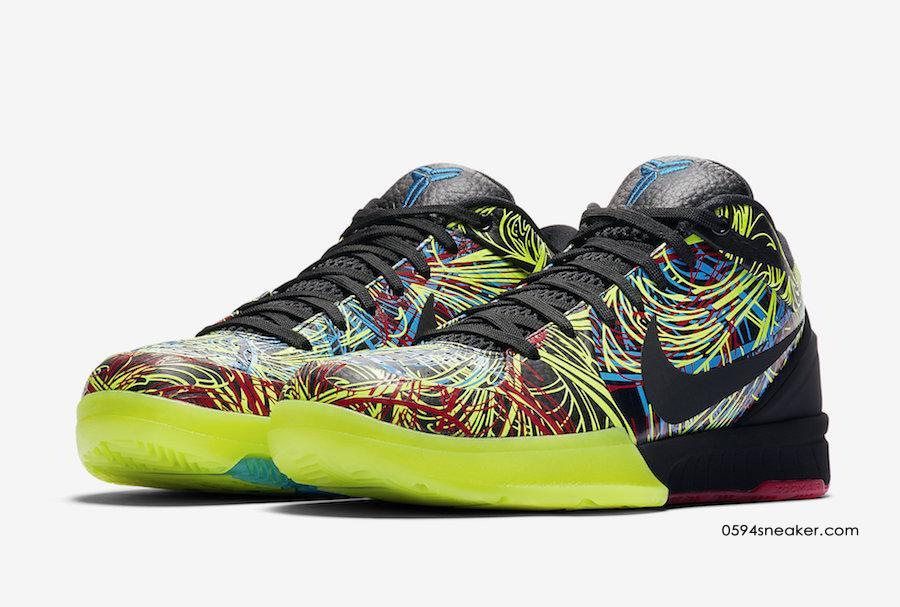 "Nike Kobe 4 Protro ""Wizenard"" 货号:CV3469-001"